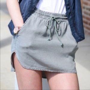 Anthropologie Cloth & Stone Boardwalk Skirt Large